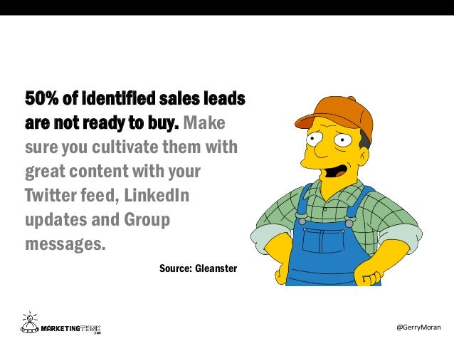 I Should Have Used Social Selling | Gil Gunderson's Guide To Social Sales Slide 3