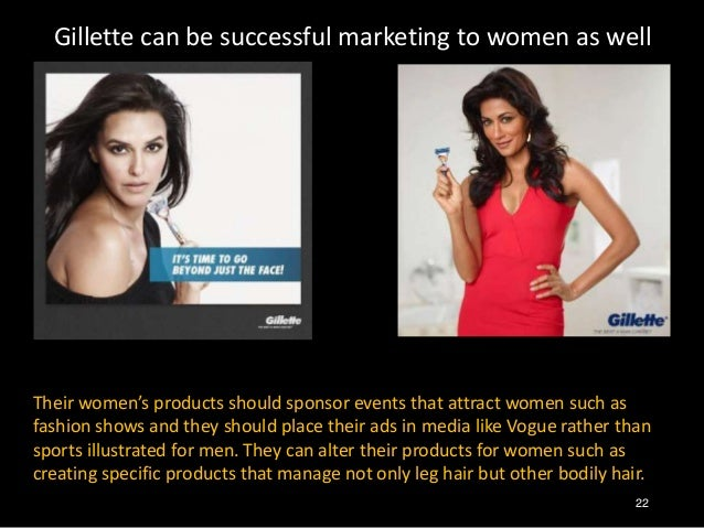 gillette advertising marketing case study Gillette innovation and swot analysis some of the key themes presented in the gillette case are marketing equity aggressive advertising.
