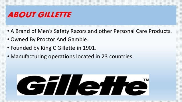gillette case analysis Access to case studies expires six months after purchase date publication date: january 01, 2000 chronicles the launch of a total quality management (tqm) program in gillette argentina.