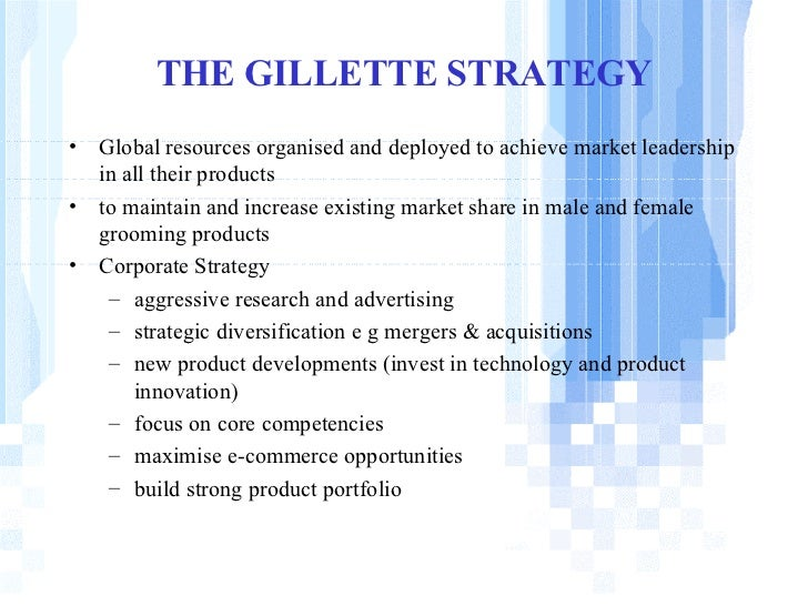 gillettes acquisition of duracell Although the acquisition of nanfu by gillette for duracell happened in 2003, a literature survey showed that there are no extensive and speciàc investigations on this acquisition regarding the challenges in communication involved in.
