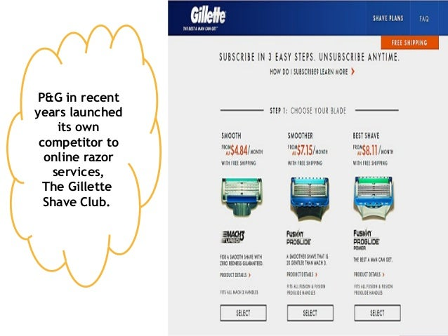 gillette case study This case study enables a discussion on how to develop a new and successful  product, especially  after having been in india for decades, gillette (acquired by.