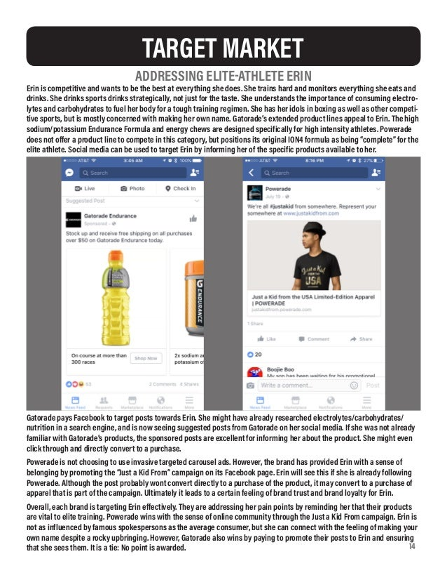Gatorade Vs Powerade A Social Media Marketing Analysis