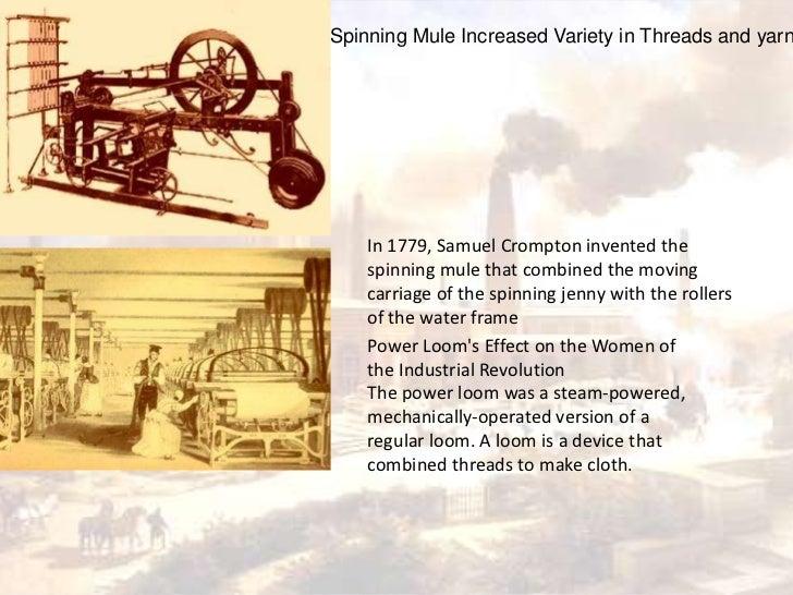Power Loom Effect On Industrial Revolution