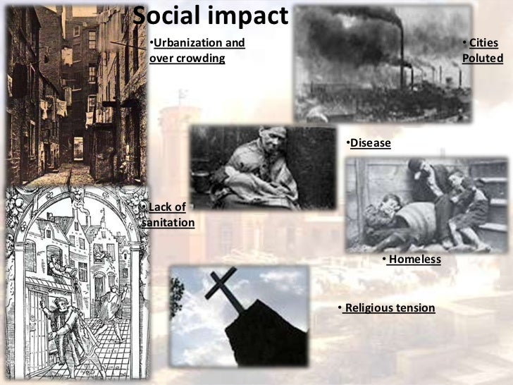 what was the social impact of the industrial revolution