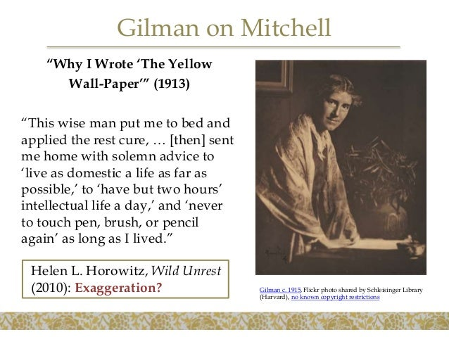 Charlotte Perkins Gilman The Yellow Wall Paper And Related Writings