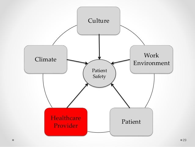 Organizational Contex And Patient Safety Is There A Role