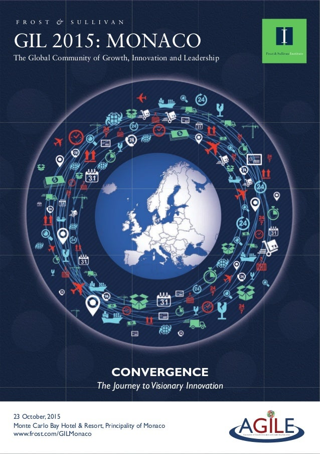 CONVERGENCE The Journey toVisionary Innovation GIL 2015: MONACO The Global Community of Growth, Innovation and Leadership ...