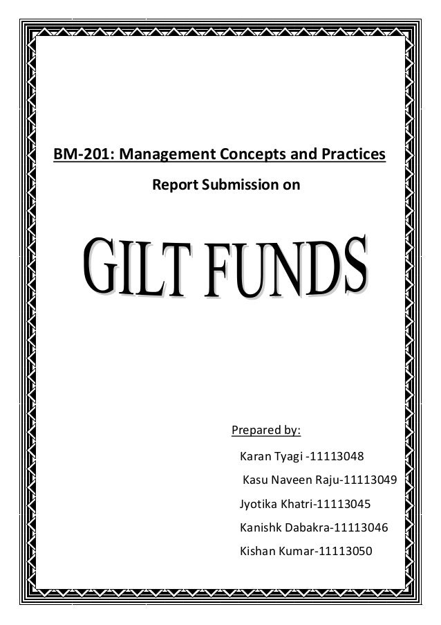 BM-201: Management Concepts and Practices            Report Submission on                      Prepared by:               ...