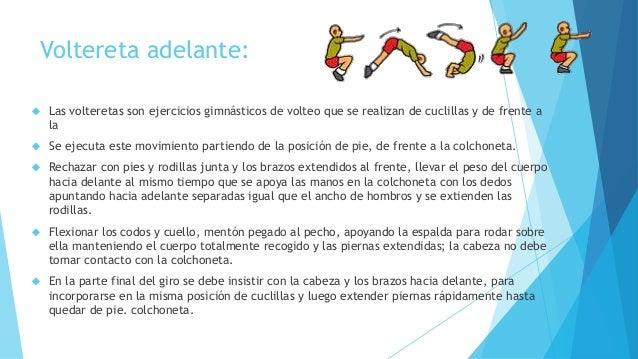 Gimnasia art stica volteretas invertida rueda y rondat for Definicion de gimnasia