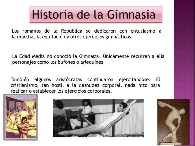 Gimnasia y su clasificacion for Gimnasia informacion