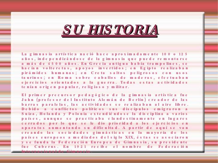 Gimnasia art stica for Gimnasia informacion
