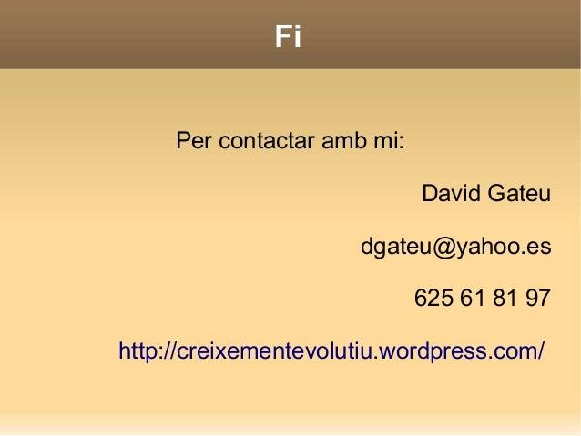 Gimnastica cerebral  David Gateu