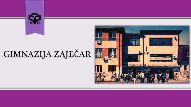 Afbeeldingsresultaat voor Gimnazija Zaječar