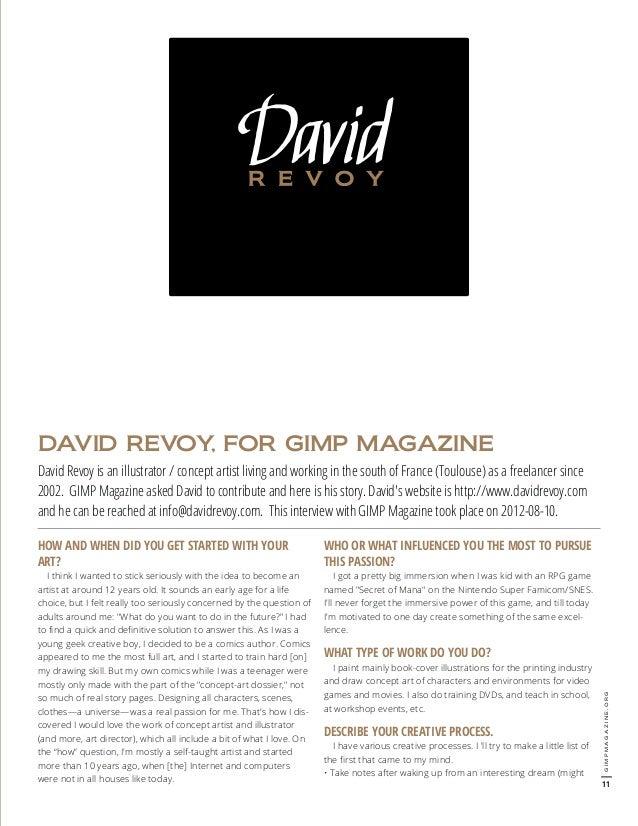 How To Make A Book Cover In Gimp : Gimp magazine
