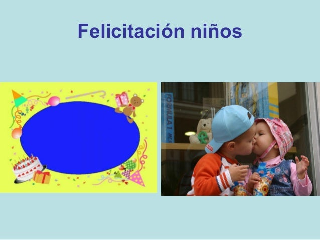 Felicitación niños