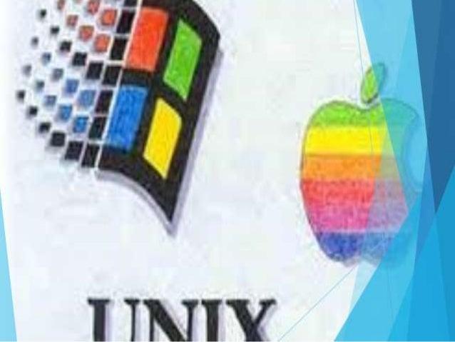 CONCEPTO : • Es un sistema operativo multiusuario que incorpora multitarea. • El sistema operativo UNIX tiene diversas var...