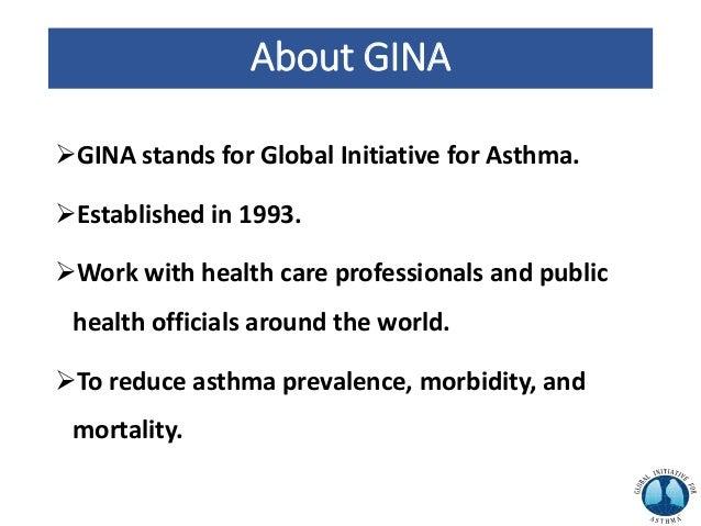 GINA 2019 presentation Slide 2