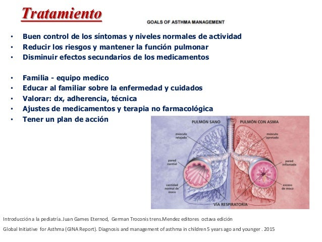 MEDICAMENTOS DE CONTROL •Glucocorticoides inhalados •Modificadores de leucotrienos •Teofilina de acción prolongada • Cromo...