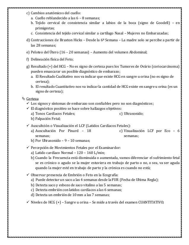 Ginecología y obstetrícia (apuntes)