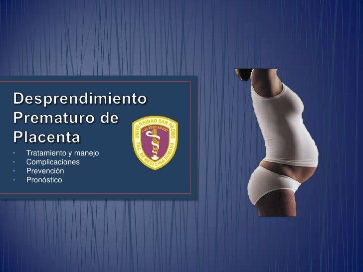 •   Tratamiento y manejo•   Complicaciones•   Prevención•   Pronóstico