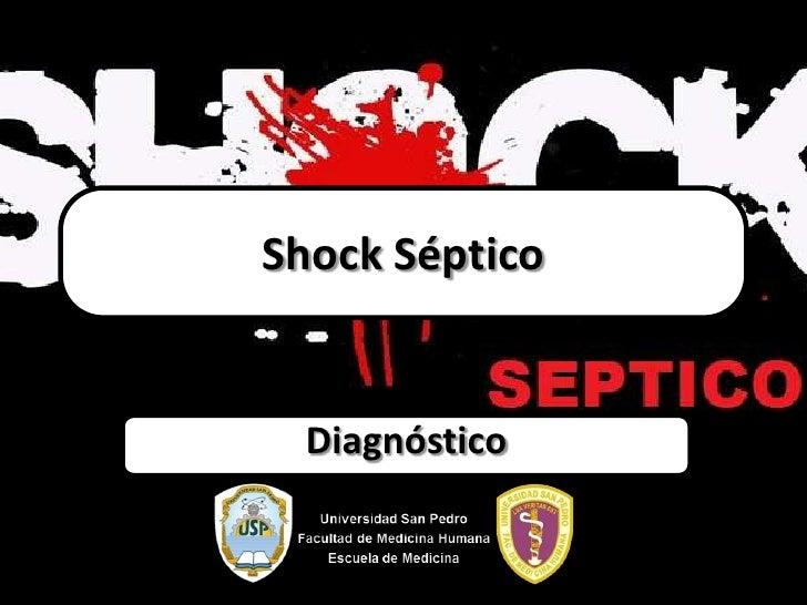 Shock Séptico Diagnóstico