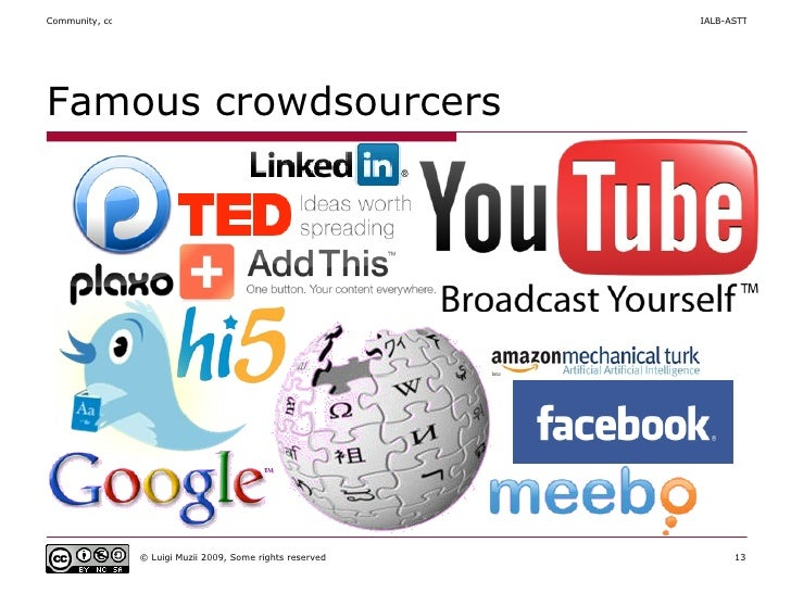 Famous crowdsourcers