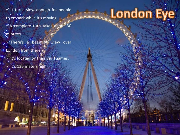 It has become a must see event for the visitors of London.