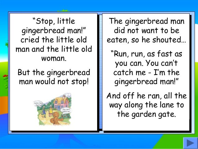 image relating to Gingerbread Man Printable Book named Gingerbread person tale ebook