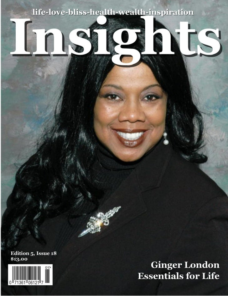 Insights magazine is now published quarterly. September: Neale Donald Walsch, Conversations With God       July: look for ...