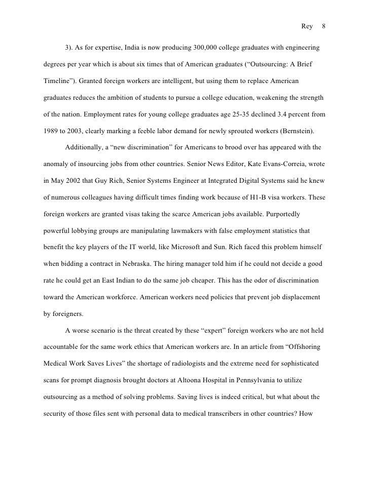year 8 essay writing