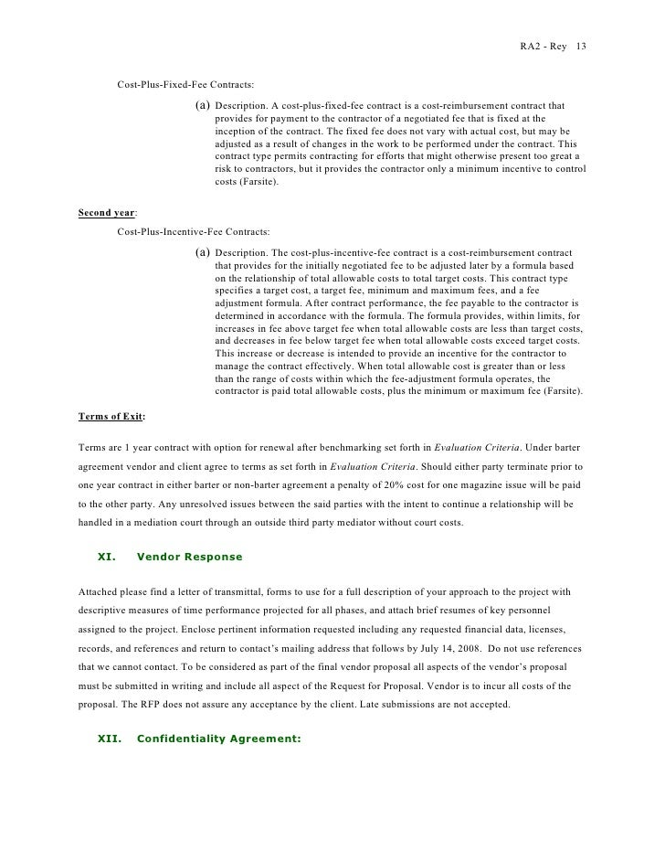 One page agreement template ginger rey request for for Cost plus building contract template