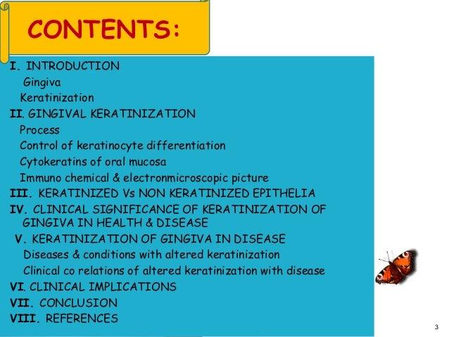 Gingival keratinization ppt Slide 3