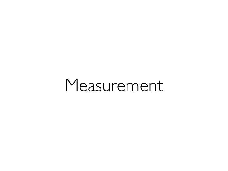 Measurement kit instructions