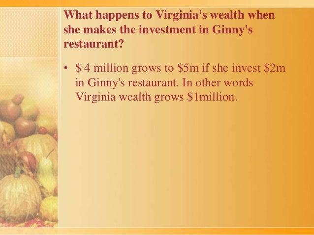 Ginny S Restaurant Case
