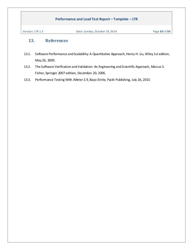 Ginsbourg performance and load test report template ltr 15 30 performance and load test spiritdancerdesigns Image collections