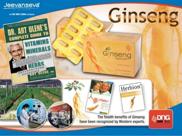 Ginseng Capsule  Panax Ginseng C.A. Meyer                    Michael Wong                    Senior Marketing