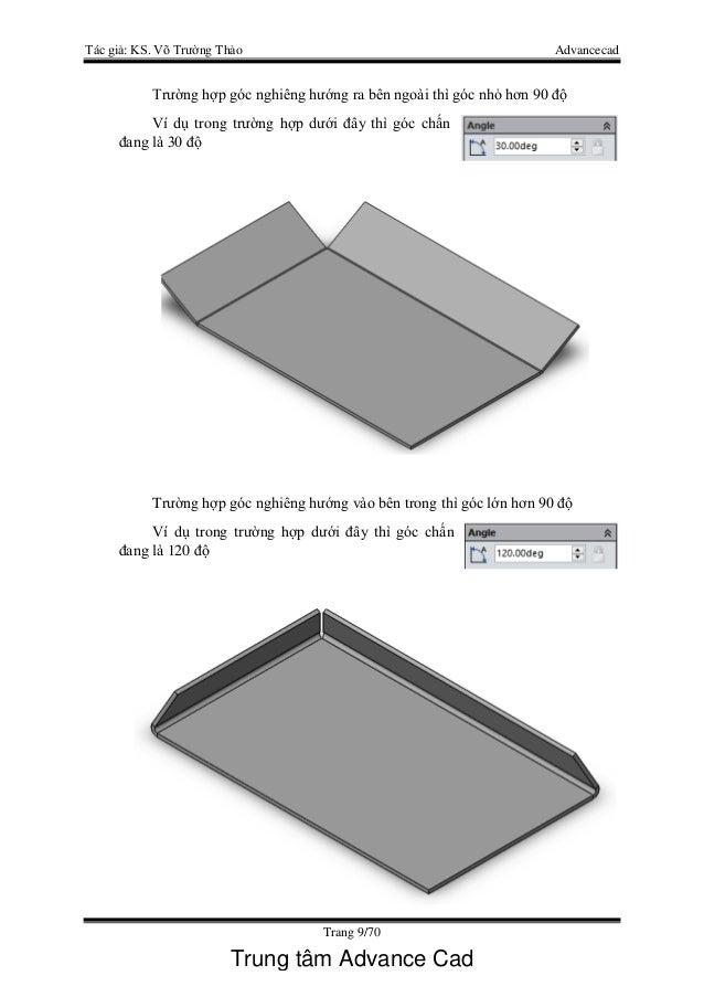 Gi 225 O Tr 236 Nh Thiết Kế Kim Loại Tấm Solidworks 2016