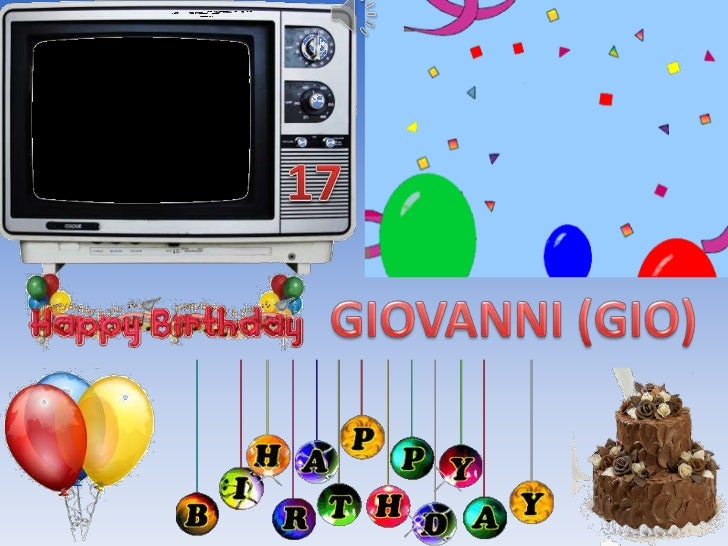 Gios 17th Birthday Powerpoint