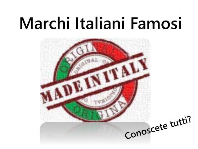 Gioco marchi italiani famosi for Marchi mobili italiani