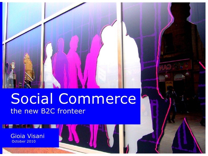 Social Commerce - thoughts