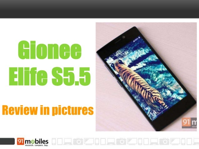 Gionee Elife S5.5 Review in pictures