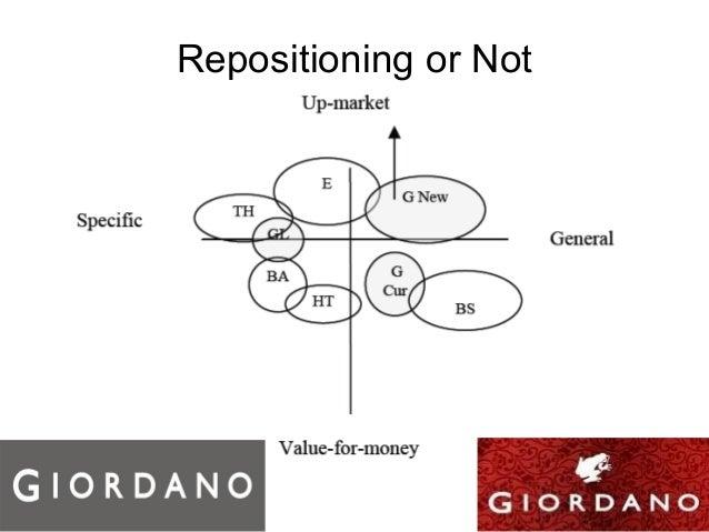 Giordano marketing analysis