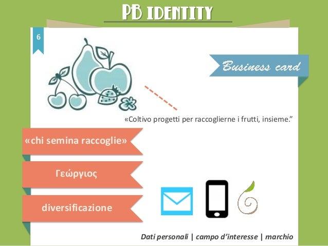 PB identity 7 prevalentemente in formato digitale legato all'invio di email, documenti di lavoro personali, curriculum e l...