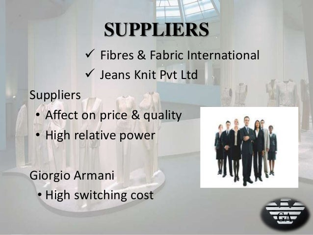 porters five forces luxury fashion industry