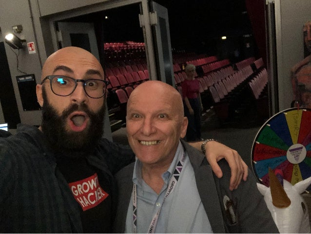 Giorgio Fatarella e Raffaele Gaito growth hacking day maggio 2018