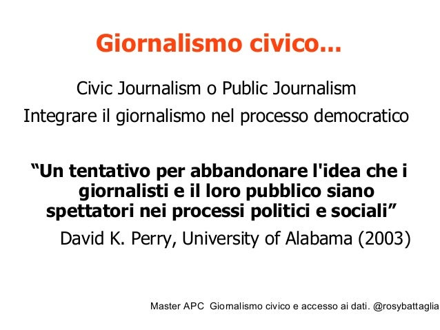 """Master APC Giornalismo civico e accesso ai dati. @rosybattaglia Cos'è un inchiesta giornalistica? """"Un'inchiesta giornalist..."""