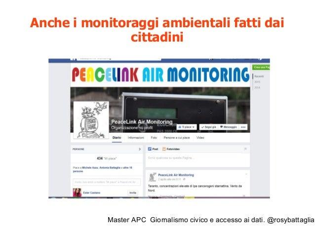 Master APC Giornalismo civico e accesso ai dati. @rosybattaglia Strumenti per accedere ai dati attraverso le richieste all...