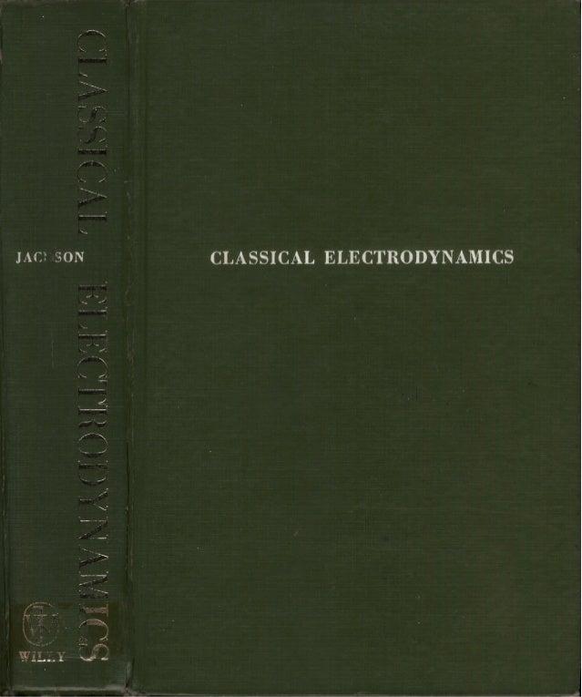 Giáo trình jackson classicalelectrodynamics