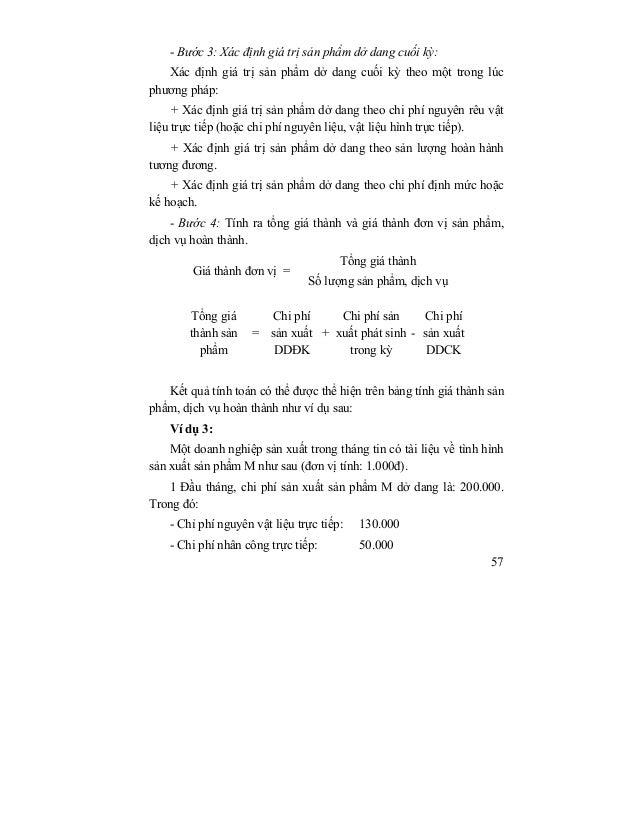 Giáo trình môn nguyên lý kế toán