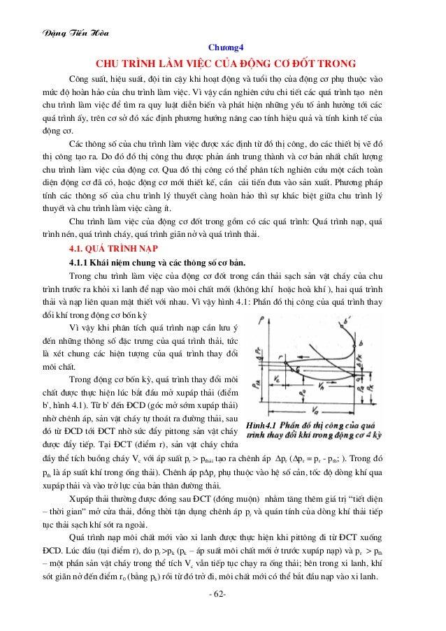 Giáo trình động cơ đốt trong - Đặng tiến hòa
